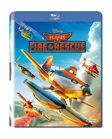 Walt Disney's Planes 2: Fire & Rescue (Blu-ray)
