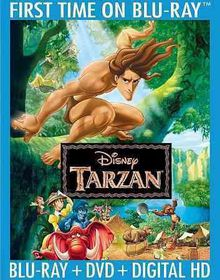 Tarzan (Region A Import Blu-ray)