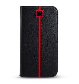 Marblue Jag Wallet Cover for iPhone 6/6S - Racer Black & Red