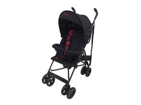 Chelino - Clio 2 Position Buggy - Black & Red