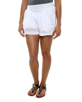Slick Tate Lined Shorts in White