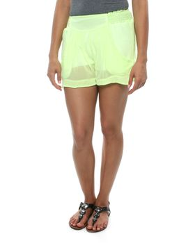 Slick Tate Lined Shorts in Lime