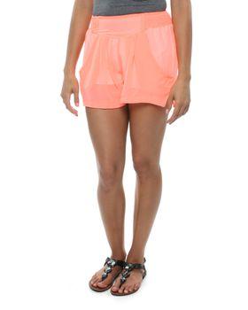 Slick Tate Lined Shorts in Orange