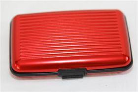 Quirky Aluminium Wallet - Red