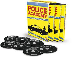Police Academy 1-7 - The Complete Collection (Parallel Import - Blu-ray)