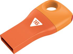 Emtec D300 Car Key USB 2.0 Flash Drive 16GB - Orange