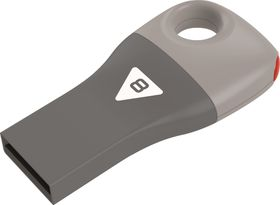 Emtec D300 Car Key USB 2.0 Flash Drive 8GB - Gray