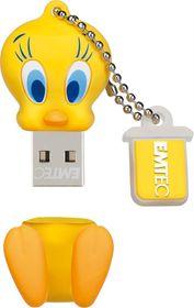 Emtec L100 Tweety USB 2.0 Flash Drive - 8GB
