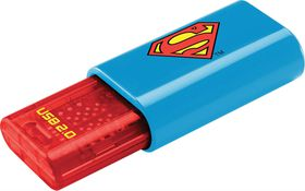 Emtec C600 2D Superman USB 2.0 Flash Drive - 8GB