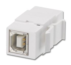 Lindy USB Type B double-clutch Keystone Wall