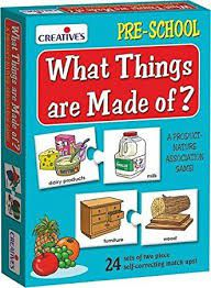 Creatives Toys What Things Are Made Of