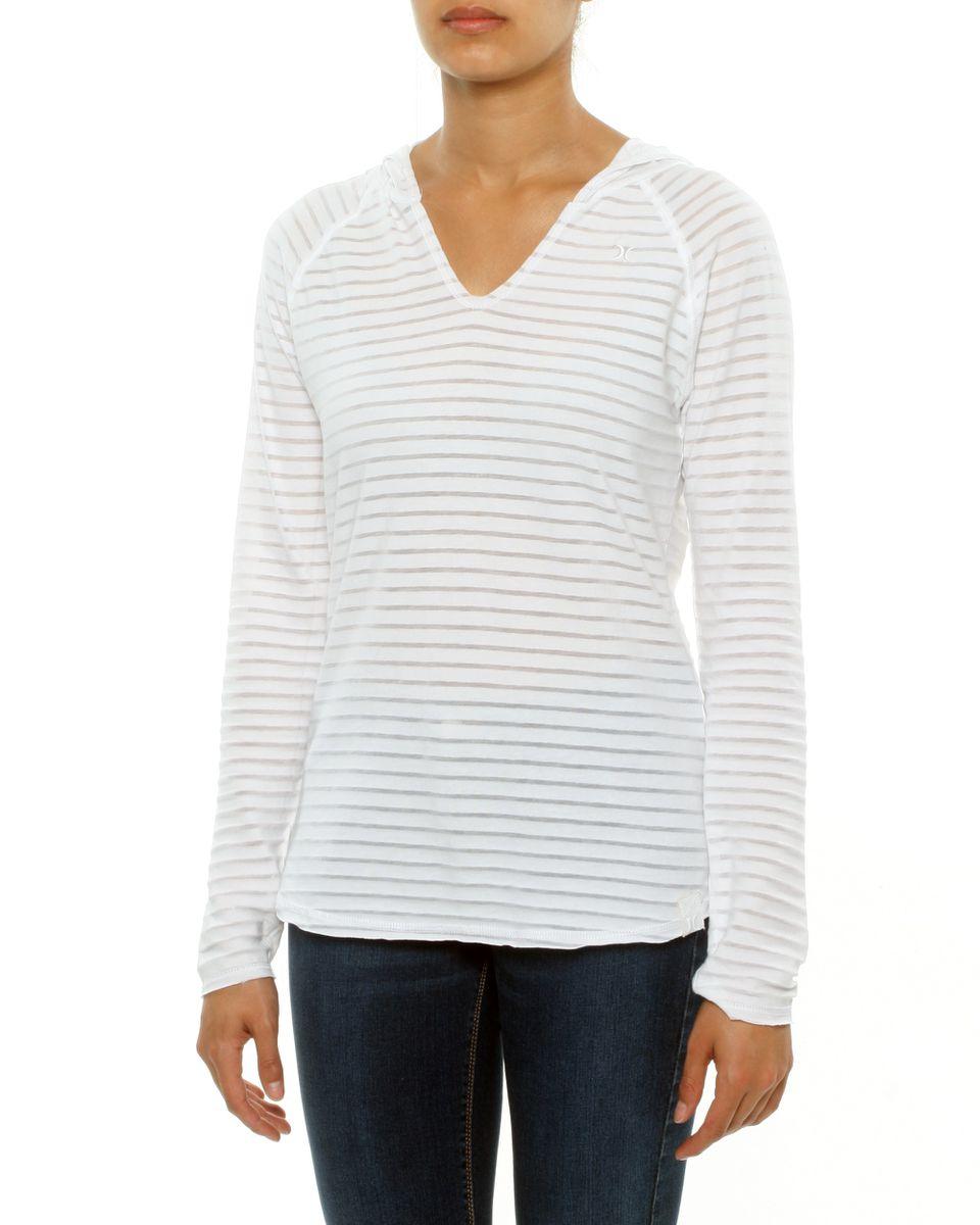 Womens Hurley Long Sleeve Sunrise T Shirt Buy Online In South
