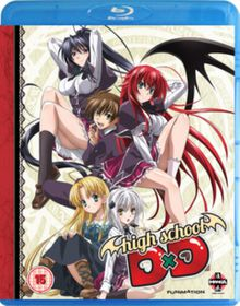 High School DxD: Complete Series Collection (Import Blu-ray)