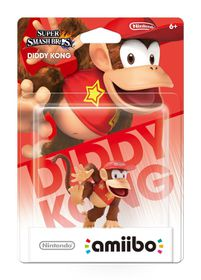 Amiibo - Smash Diddy Kong Character Pack (Wii U)
