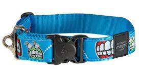Rogz - Fancy Dress 2 x Extra-Large 4cm Special Agent Dog Collar - Comic Design