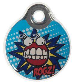 Rogz ID Tagz Large Self-Customisable Instant Resin Tag - Comic design