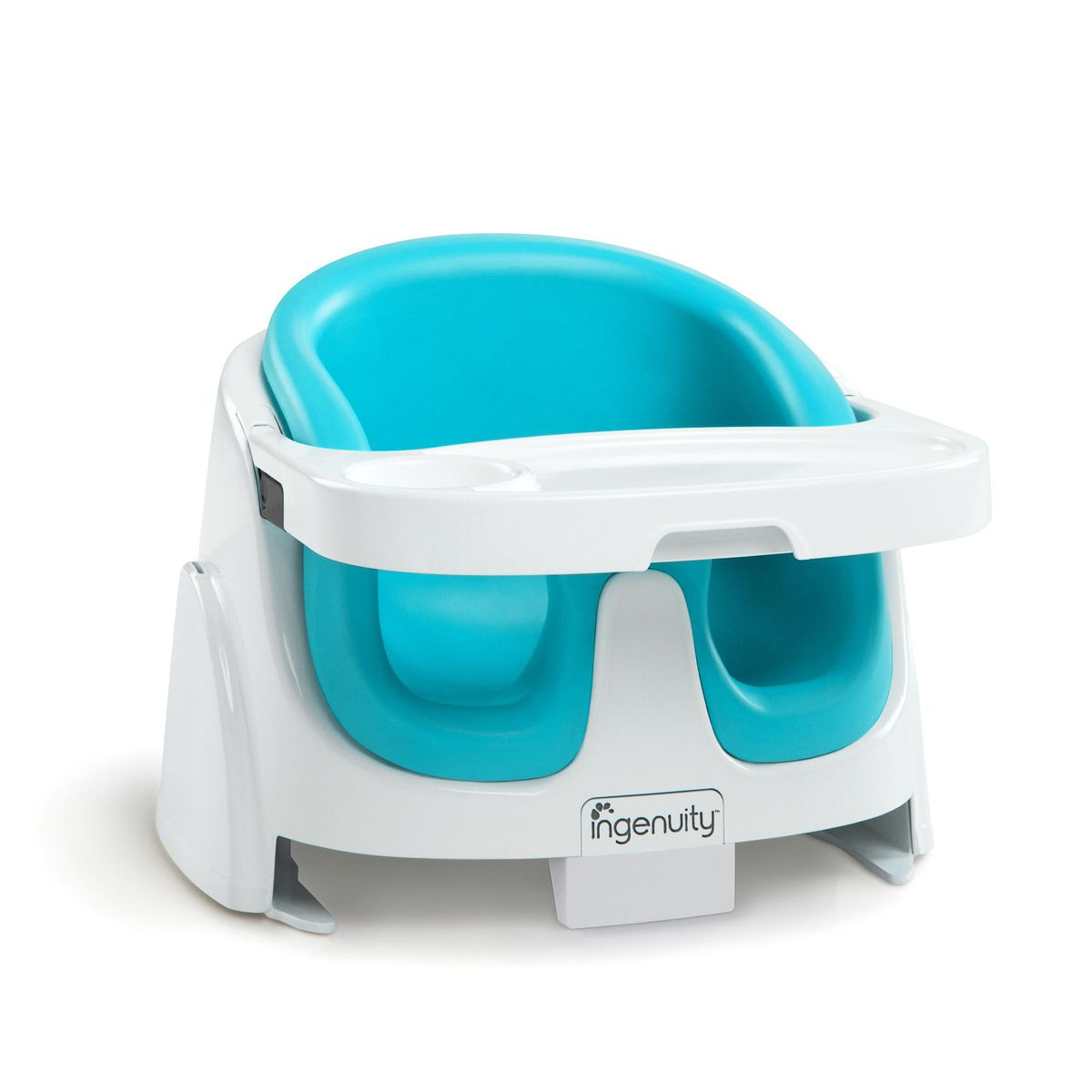 ingenuity baby base 2 in 1 booster seat aqua buy online in south africa. Black Bedroom Furniture Sets. Home Design Ideas