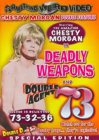 Deadly Weapons/Double Agent 73 - (Region 1 Import DVD)