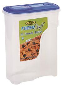 Addis - 4 Litre Fresh Stuff Cereal Storer