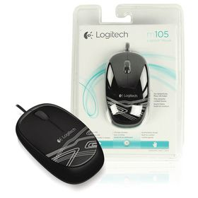 Logitech M105 Mouse - Black