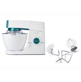 Kenwood - Chef Classic Mixer - White & Blue