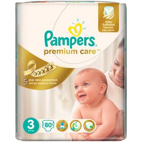 Pampers - Premium Care 80 Nappies