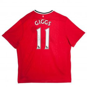 Manchester United F.C. Giggs Signed Shirt