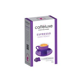 Caffeluxe - Dark Roast Espresso Capsules