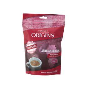 Caffeluxe - Origins - African Blend Mild Roast Espresso Capsules