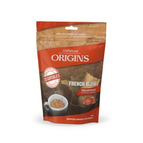 Caffeluxe - Origins - French Blend Medium Roast Espresso Capsules