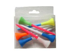 GolfitSA - Soft Top Tees - Multi Coloured - Bulk pack of 10 packets
