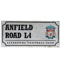 Liverpool F.C. Street Sign