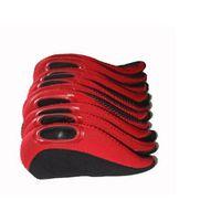 GolfitSA - Nuprene Iron Covers - Red (9 Piece)