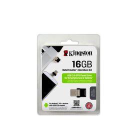 Kingston 16GB USB 3.0 Hi-Speed DataTraveler Micro - Black