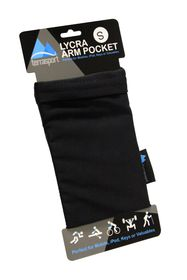 Terra Brands - Lycra Arm Medium Pocket - Black (Set of 2)