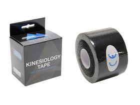 Kinesiology Tape - Pre-cut - Black (Set of 2 rolls)