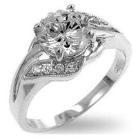 Miss Jewels - 2.00ctw Cubic Zirconia Engagement Style Ring