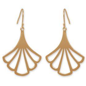 The Jeweller's Florist Petunia Earrings - Yellow Gold
