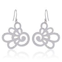 Hydrangea Earrings - Sterling Silver