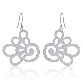 Hydrangea Earrings - Sterling Silver