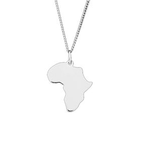 The Jeweller's Florist Africa Necklace - Sterling Silver