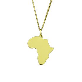 The Jeweller's Florist Africa Necklace - Yellow Gold