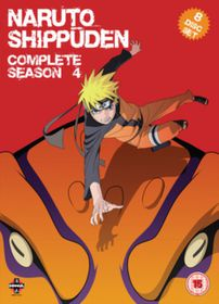 Naruto - Shippuden: Complete Series 4 (Import DVD)