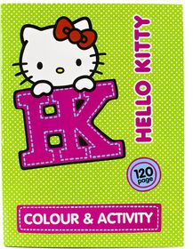 Hello Kitty 120 Page Jumbo Colour & Activity Book
