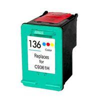 Compatible HP No. 136 C9361H Inkjet Cartridge - Tri-Colour