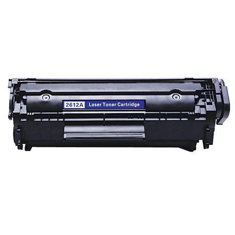 Compatible HP No  12A / Canon 703 / FX-10 / FX-9 Q2612A Toner Cartridge -  Black