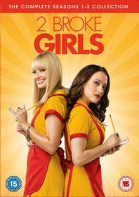2 Broke Girls: Seasons 1-3 (Import DVD)