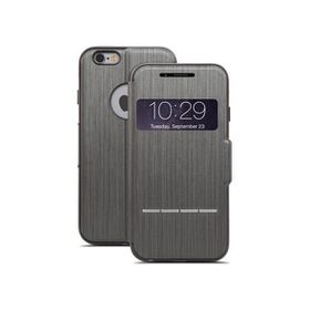 Moshi SenseCover for iPhone 6 Plus - Steel Black