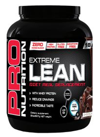 Pro Nutrition Extreme Lean 907g High Protein Meal Replacement - Chocolate