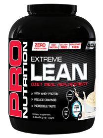 Pro Nutrition Extreme Lean 2kg High Protein Meal Replacement - Vanilla